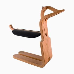 Danish Rocking Horse in Elm Tree by Magnus Olesen, 1977
