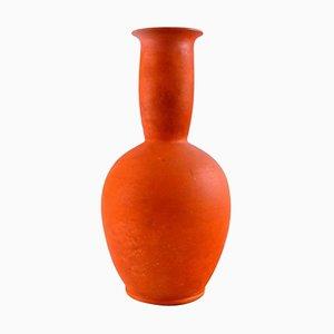 Vase in Glazed Stoneware by Svend Hammershøi for Kähler, 1930s