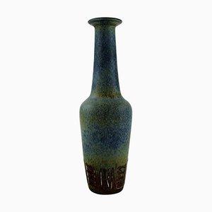 Steingut Vase von Gunnar Nylund für Rörstrand, 1960er