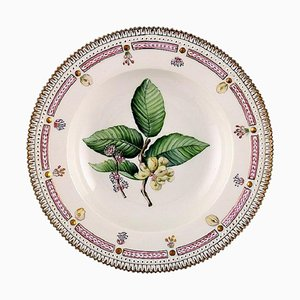 Flora Danica Deep Plate or Soup Plate from Royal Copenhagen, 20th Century