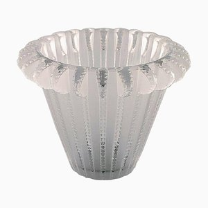 Art Deco Royal Vase in Clear Art Glass by Lalique, 1950s