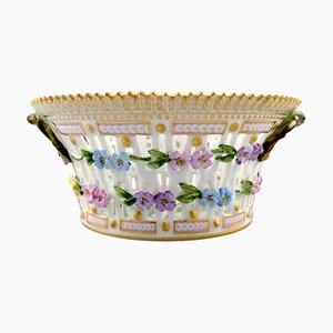 Flora Danica Fruit Bowl Number 20/3532 from Royal Copenhagen, 20th Century