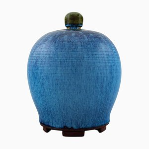 Lidded Jar by Wilhelm Kåge for Farsta & Gustavsberg, 1930s