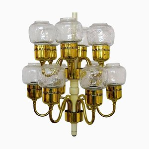 Chandelier by Hans Agne Jakobsson for Markaryd, 1960s