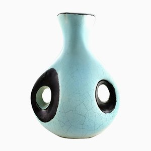 Swedish Ceramic Vase by Hans Hedberg, 1960s