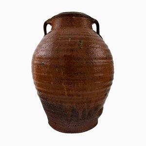 Large Stoneware Vase by Gutte Eriksen, 20th Century