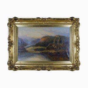 Schottische Landschaft von Daniel Sherrin, 20. Jahrhundert