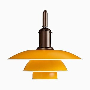 PH 3½-3 Pendant with Brass Socket & Metal by Poul Henningsen, 20th Century