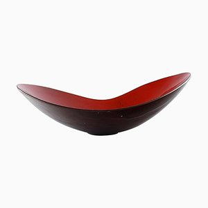 Large Swedish Ceramic Dish by Hans Hedberg, 1960s