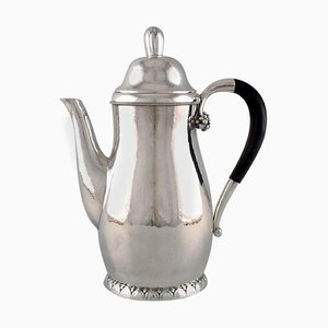 Antique Georg Jensen Coffee Pot Design Number 32C