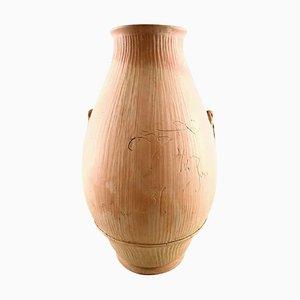 Large Unique Vase by Svend Hammershøi for Kähler, 1937