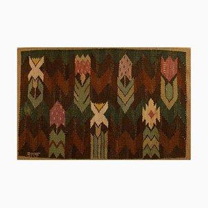 Handwoven Wool Rölakan Carpet by Marta Maas-Fjetterström, 1930s