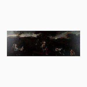 Öl auf Leinwand Unterfüttert von einem Unbekannten Flämischen Meister, 18. Jahrhundert