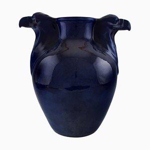 Large Vase with Eagle's Beak by Karl Hansen Reistrup for Kähler