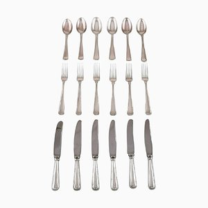 Lunch Cutlery in Silver from Cohr, 1930s, Set of 18
