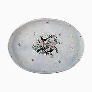 Bjorn Wiinblad Large Oval Platter, 1940s