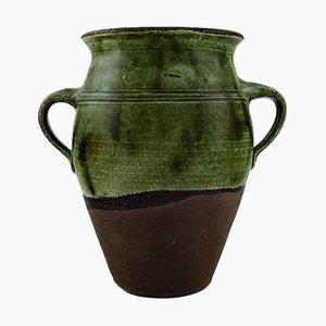 Gutte Eriksen Large Unique Stoneware Vase