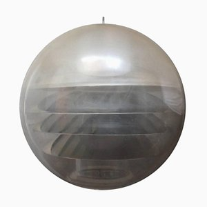 Large Ceiling Lamp in Plexiglass in the Style of Poul Henningsen or Verner Panton, 1950s