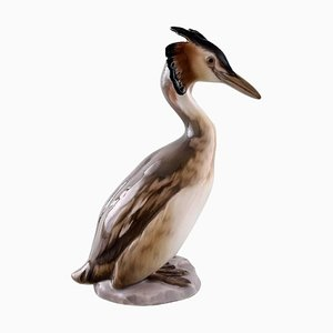 Extremely Rare Bing & Grondahl 204 Grebe Figurine