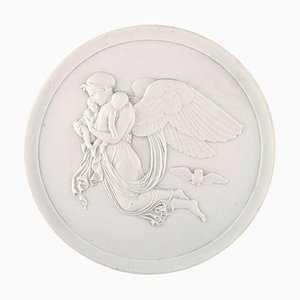 Antique Night Biscuit Relief by Thorvaldsen for Bing and Grondahl