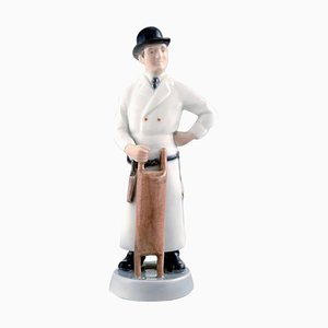 Butcher Figurine by M. Bovenschulte for Royal Copenhagen