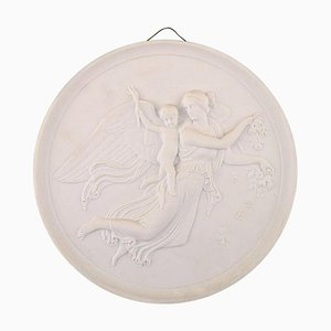 Royal Copenhagen Relief Day Biscuit by Thorvaldsen, 1800s