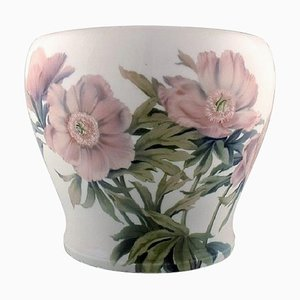 Antique Colossal Planter or Flower Pot in Porcelain from Bing & Grøndahl