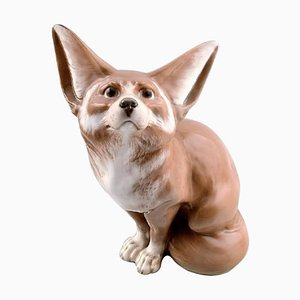 Rare Royal Copenhagen Large Desert Fox Figure