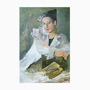 Portrait of Mrs. Yvonne Santiago by Georg Walter Rössner
