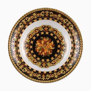 Barocco Porzellanschale mit goldener Verzierung von Gianni Versace für Rosenthal