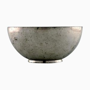 Just Andersen Early Bowl in Pewter, 1930s