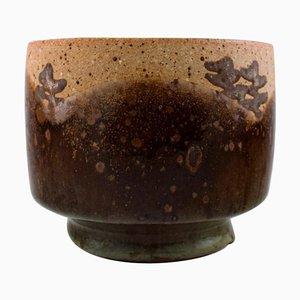 Ceramic Vase in Rustic Style by Dorthe Møller, 1970s