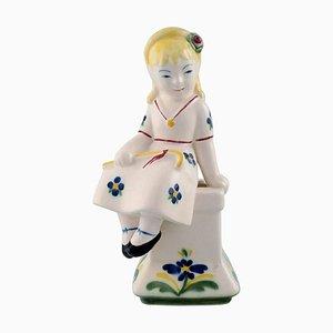 Shepherdess Figurine from Alumina, 1954