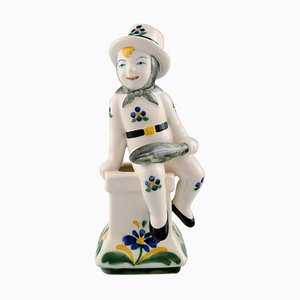 Childcare Figure Chimney Sweeper from Alumina, 1953