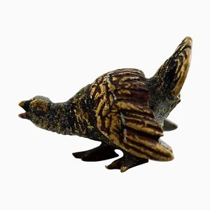 Antique Vienna Bronze Capercaillie Bronze Figurine