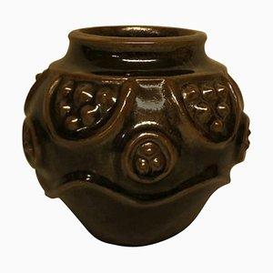 Rare Royal Copenhagen Stoneware Vase by Jörgen Mogensen