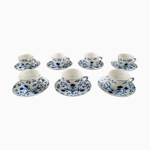Bing & Grondahl Butterfly Espresso Cups and Saucers, Set of 14