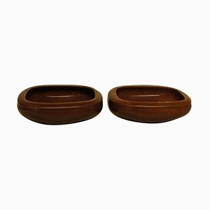 Royal Copenhagen Art Pottery Bowls by Bode Willumsen, Set of 2