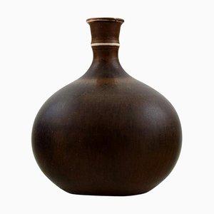 Miniatur Keramikvase von Stig Lindberg für Gustavsberg