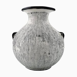 Stoneware Vase by Svend Hammershøi for Kähler, 1930s