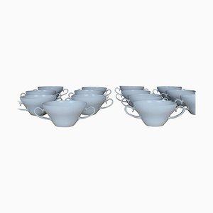 Rosenthal Bjorn Wiinblad Bouillon Cups, Set of 14