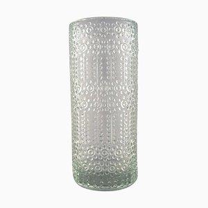 Nanny Still für Riihimäen Lasi Finnische Grapponia Glass Art Vase
