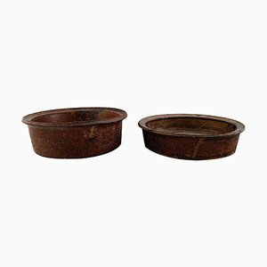 Bowls by Niels Olufsen 'Jeppe' Thorkelin-Eriksen, 1960s, Set of 2