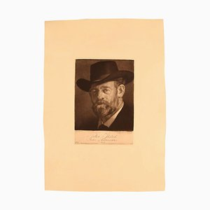 Gustav V. Blom Porträt von Peter Ilsted, 1919