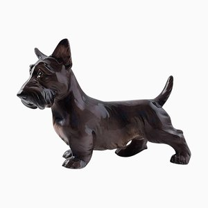 Dahl Jensen Number 1066 Scottish Terrier Standing