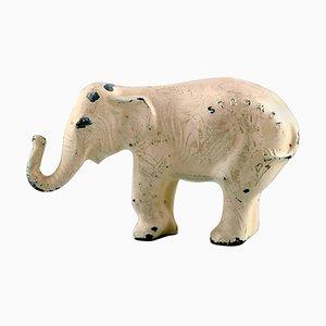 Wienerbronze Elefantenfigur aus Bronze Wahrscheinlich von Franz Bergmann