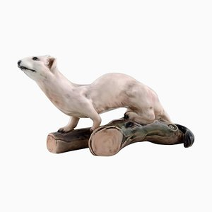 Nr 1121 Ermine or Stoat Porcelain Figurine by Dahl Jensen
