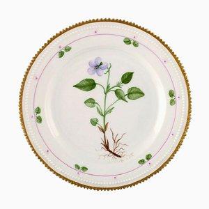 Royal Copenhagen Flora Danica Style Flat Plate
