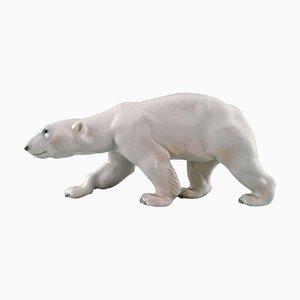 Grande Figurine Bing & Grondahl en Porcelaine d'Ours Polaire Numéro 1784