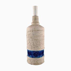 Glasierte Keramiklampe im Stile von Bitossi